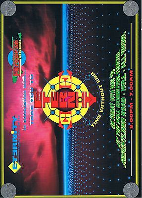 ETERNITY Rave Flyer Flyers 14/5/93 A4 Hull Exhibition Centre