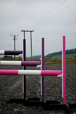 3 Pairs training stands,poles & cups,by Bristol Show Jumps (BER) KEYHOLE TRACKs