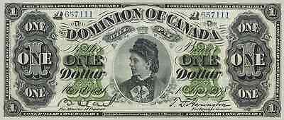 Dominion of Canada 1 Dollars 1878 P18a Reproduce