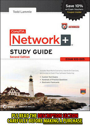 FAST SHIP: Comptia Network+ Study Guide : Exam N10-005 2E by Todd Lamml