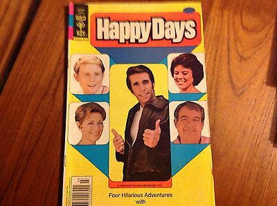 Rare Happy Days 1979 Gold Key Comic No 1