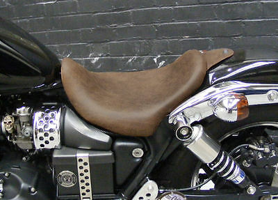 Triumph Speedmaster America Low Profile Bobber Seat Brown Leather