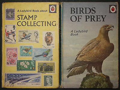 Two Ladybird Books - Stamp Collecting + Birds Of Prey