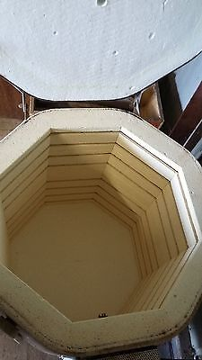 3 Phase electric pottery kiln 2.9 cu ft with stand and accessories