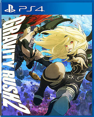 Gravity Rush 2 HK Chinese/English subtitle Version PS4 NEW