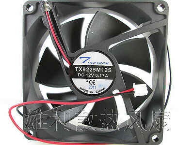New for TX9225M12S 12V 0.17A 9CM 9025 2Wire Power Cooling Fan