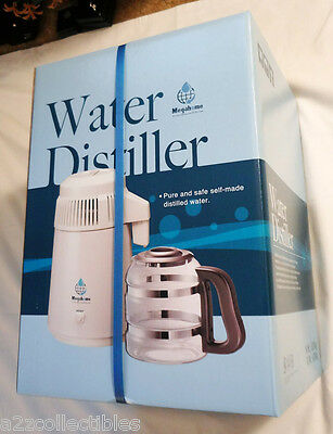 Megahome Home Countertop Water Alcohol Essential Oils Distiller Purifier System!