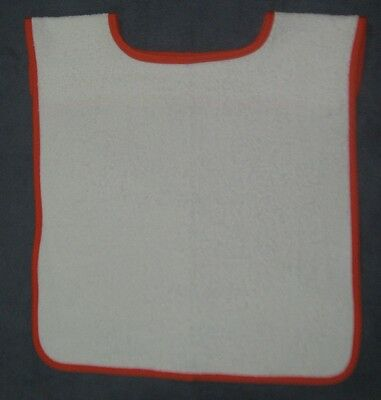 NEW, ADULT BIB (Perfect for aged, disabled or just a messy eater)