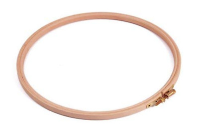 """Wooden Embroidery Hoop 7"""" (18Cm) Cross Stitch Hoop Quality English Made Brand"""