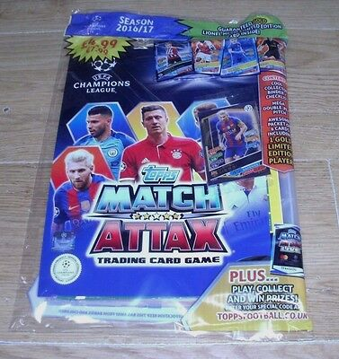 Topps Match Attax 2016/17 UEFA Champions League Trading Cards Game Starter Pack