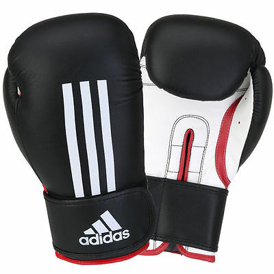 NEW Authentic Adidas Energy 100 Boxing Gloves Black ADIEBG100 Size 12 oz