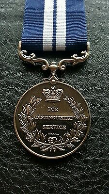 Bargain Ww1 George V Britt Full Size Military Medal For Distinguished Service