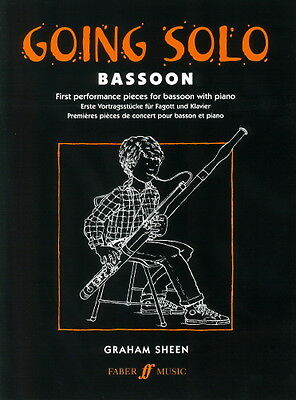 Going Solo (Bassoon and Piano), ed. Graham Sheen FM50987