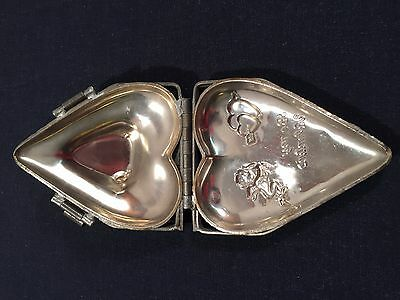 """Vintage Metal Chocolate Mold Heart Shaped """"Be My Valentine"""""""