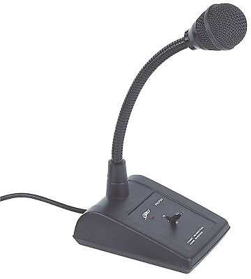 Paging Desk Top Microphone For Pa Public Address System