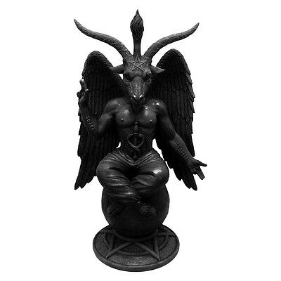 Baphomet Antiquity Figurine By Nemesis Now | Occult | Satan | Goat of Mendes