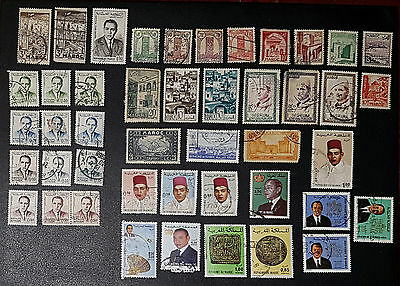 MOROCCO Mixed Selected Stamps (No 1154)