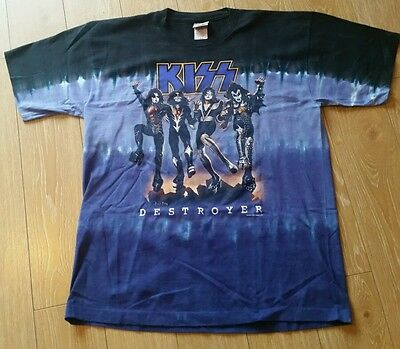 Kiss Liquid Blue T Shirt