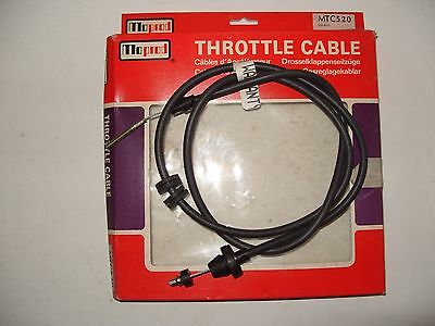 Throttle Cable - Fiat 131 1.3S & 1.6S 1975-1984