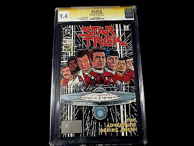 Star Trek #1 - CGC 9.4 - Signed By Shatner!