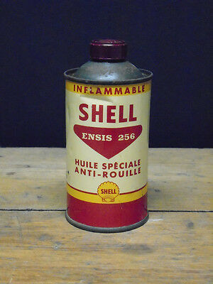 Vintage Shell Ensis 256 motor oil can