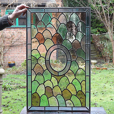 Stained Glass Panels, a pair (delivery available)