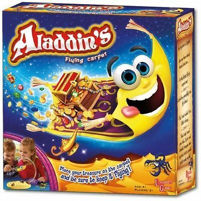 Aladdin's Flying Carpet, Fun Family Kids Party Board Game