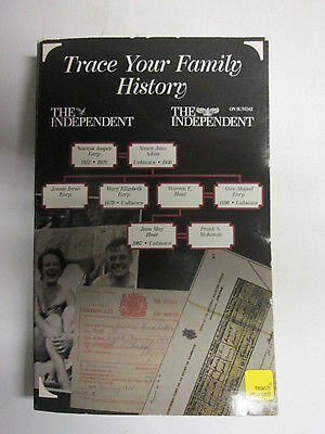Trace Your Family History - S Colwell - The Independent  paperback book