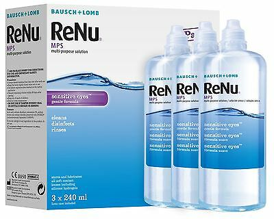ReNu MPS 3x240ml (3 Months) Contact Solution – DAMAGED BOX
