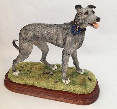 Border Fine Arts Classic Lurcher Grey B1053 Limited Edition New And Boxed