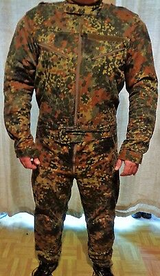 Flecktarn Suit Overall Two piece Padded Motorcycle size 8595/0005