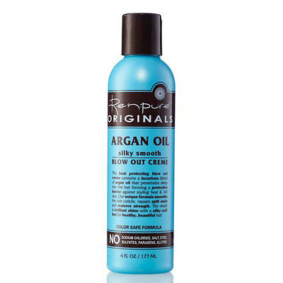 Argan Oil Silky Smooth Blowout Creme 6 oz