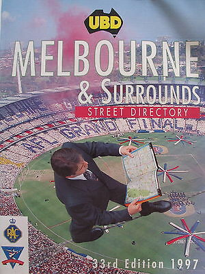 UBD street directory - Melbourne 1997 - Edition 33