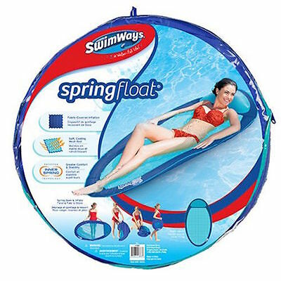 Pool Water Floating Sun Lounge Bed Hammock Swimways Spring Float Inflatable