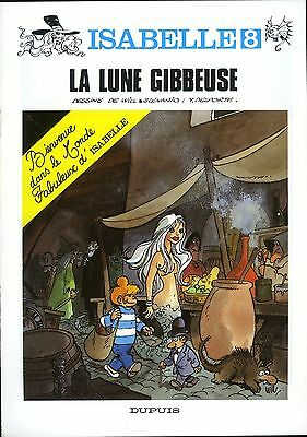 """WILL """"La lune gibbeuse"""" ISABELLE  fascicule promo couleur 1991 Neuf!"""