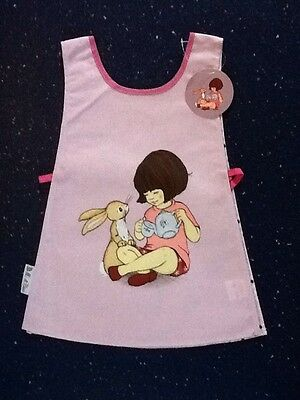 Belle And Boo Cotton Backed Vinyl Tabard. New With Tags.