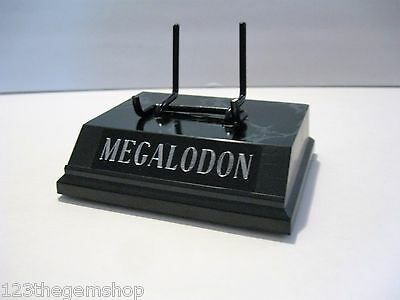 """Megalodon Shark Tooth Display Stand 4"""" For Shark Tooth Fossil Tooth Not Included"""
