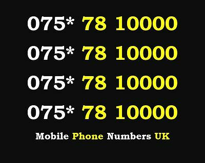 Special 0000 Gold O2 Mobile Phone Number Sim Card Memorable Business Platinum
