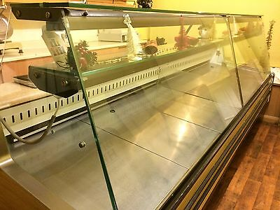 Refrigerated Serve Over Glass Shop Counter 2.8M Chilled storage