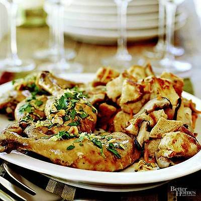 Chicken with Sourdough-Mushroom Stuffing Best Food Recipe