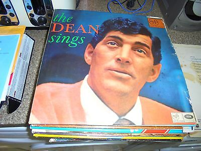 LP/ DEAN MARTIN /THE DEAN SINGS (1960s MONO EMI MFP