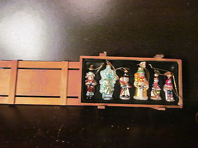 6 Thomas Pacconi Classic Christmas Ornaments 30 Years 2004 Collection Boxed