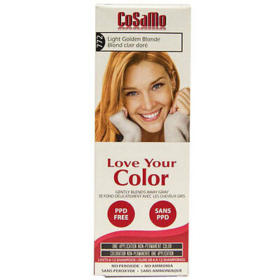 Cosamo Hair Color Golden Blonde 3 oz by Love Your Color