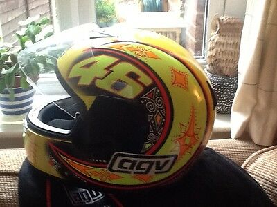 Agv Rossi Kinetic full face Motorcycle hemet Size XS