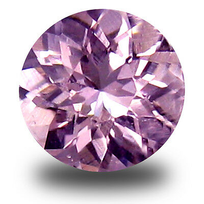0.44 ct Valuable Round Cut (5 x 5 mm) Pink Color Morganite Gemstone