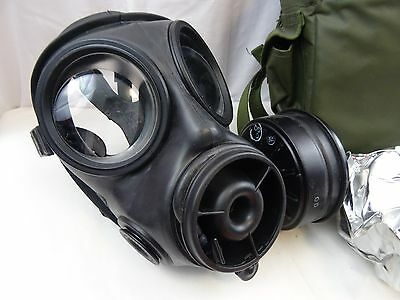 British Army S6 MKII Respirator Spare Sealed Filter Haversack 1994& Survival Bag