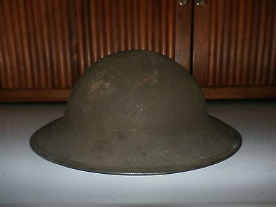 US Brodie Helmet M1917 ZD  Batch 199  Military Helmet