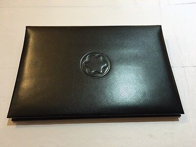 Montblanc Notepad/ Writing Test Display book in Leather - New