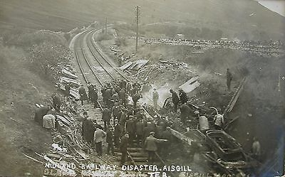 Midland Railway Disaster At Aisgill Early Rp Pc