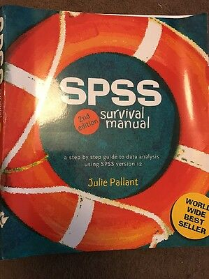 SPSS Survival Manual: A Step by Step Guide to Data Analysis Using SPSS by...